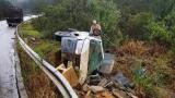 Capotamento deixa ferido em Volta Grande
