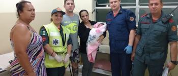 Bebê de 11 dias é salvo por bombeiros de Monte Castelo após se engasgar