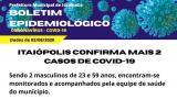 Itaiópolis confirma mais dois casos positivos de Covid-19 nesta segunda-feira, (03).