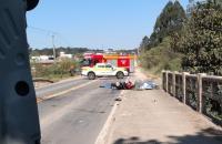 Casal perde a vida em acidente na SC 418 em Campo Alegre