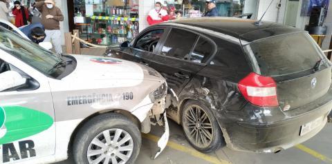 bloqueios policiais e trocas de tiros marcam intensa perseguição a bandido que assalto três lotéricas na região