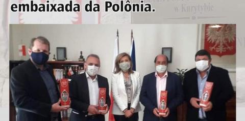 Papanduva será o primeiro município do Brasil com ensino da língua polonesa em parceria com a embaixada da Polônia.
