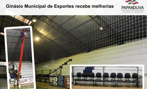 Ginásio Municipal de Esportes recebe melhorias