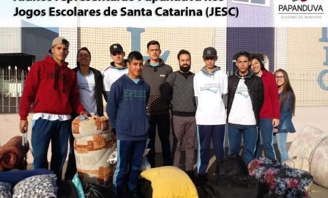 Alunos representarão Papanduva nos Jogos Escolares de Santa catarina (JESC)