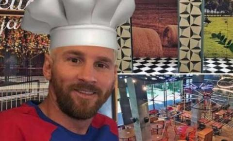 Messi abre seu restaurante para moradores de rua na Argentina