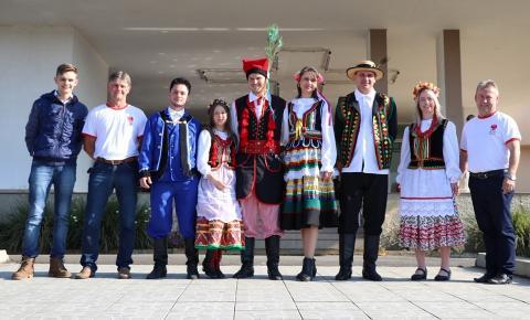 Delegação polonesa visitou Papanduva nesta semana