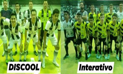 Discool e Interativo decidem a grande final do campeonato municipal de futsal 2019