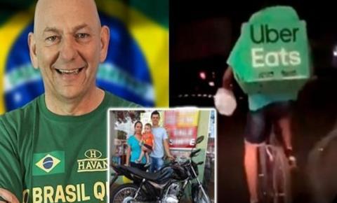 Dono da Havan dá uma moto a entregador que foi zombado por miss nas redes sociais