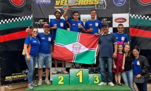 Papanduvense é Campeão Catarinense de Velocross 2019