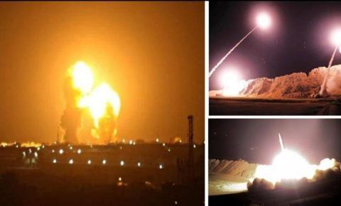 Irã ataca com mísseis base de militares americanos no Iraque
