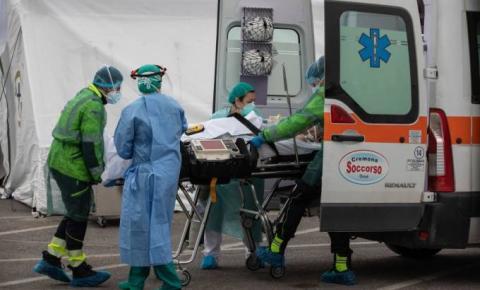 Itália registra nesta sexta-feira (20) mais 627 mortes