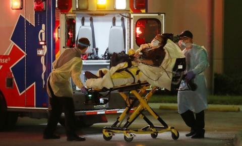 EUA têm recorde mundial de mortos por Covid-19 em um dia, com 1.169