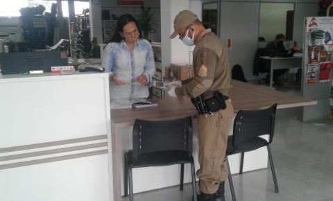 Mais de 60 estabelecimentos comercias são fiscalizados em Papanduva, Mafra, Itaiópolis e Monte Castelo