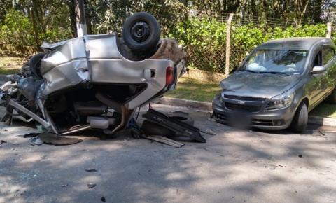 Grave acidente é registrado em Rio Negrinho SC