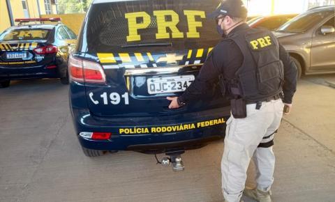 Homem procurado por roubo é preso na BR 116 em Mafra
