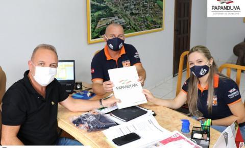 Nova etapa do desassoreamento do Rio Papanduva será realizada.