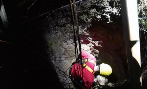 Corpo de homem desaparecido é encontrado em poço na localidade de arroio fundo, em Papanduva
