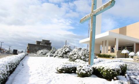 Frio intenso: Defesa Civil alerta sobre possibilidade de neve no Planalto Norte