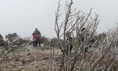 Pode nevar em mais de 20 cidades de SC nesta terça (29), aponta Inmet