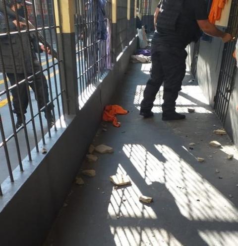 Princípio de rebelião deixa estragos no Presídio Regional de Mafra